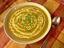 CurriedCarrotSoup